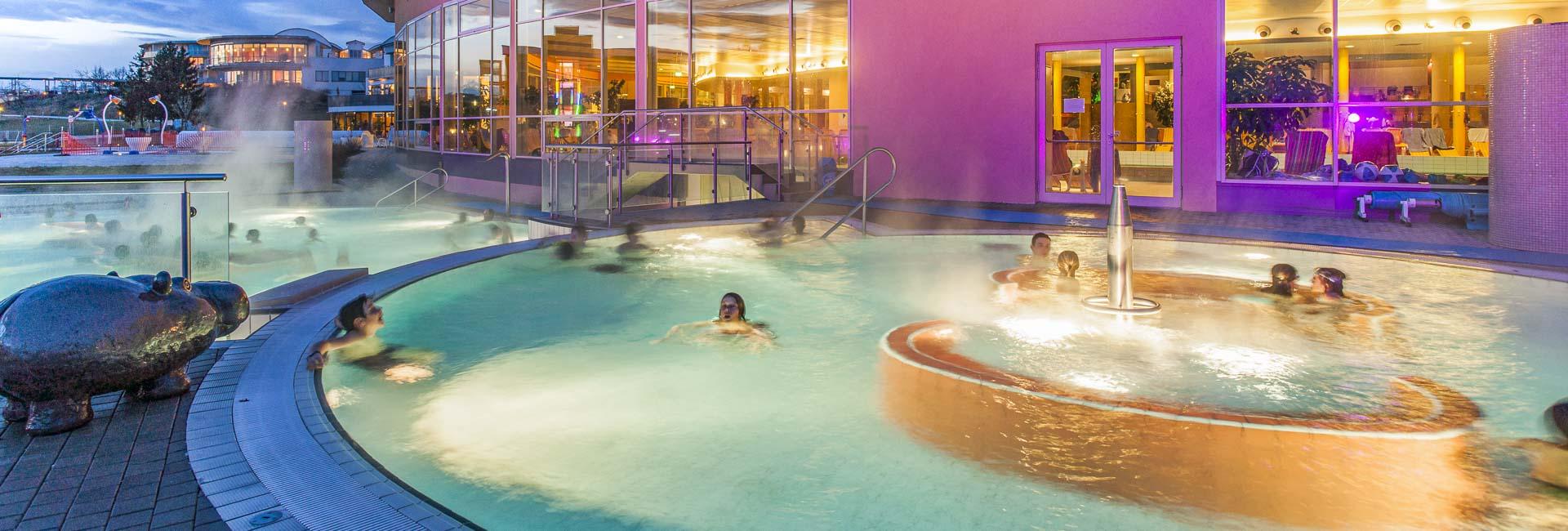 Reiters Resort Stegersbach: Thermalbad + Allegria Hotel