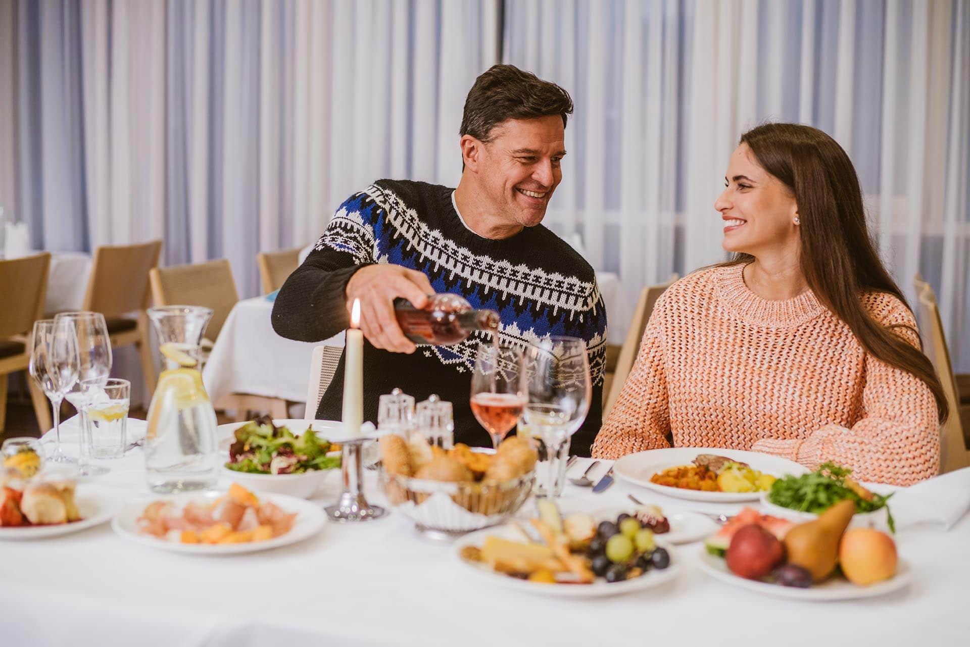 Abendessen im Reiters Resort