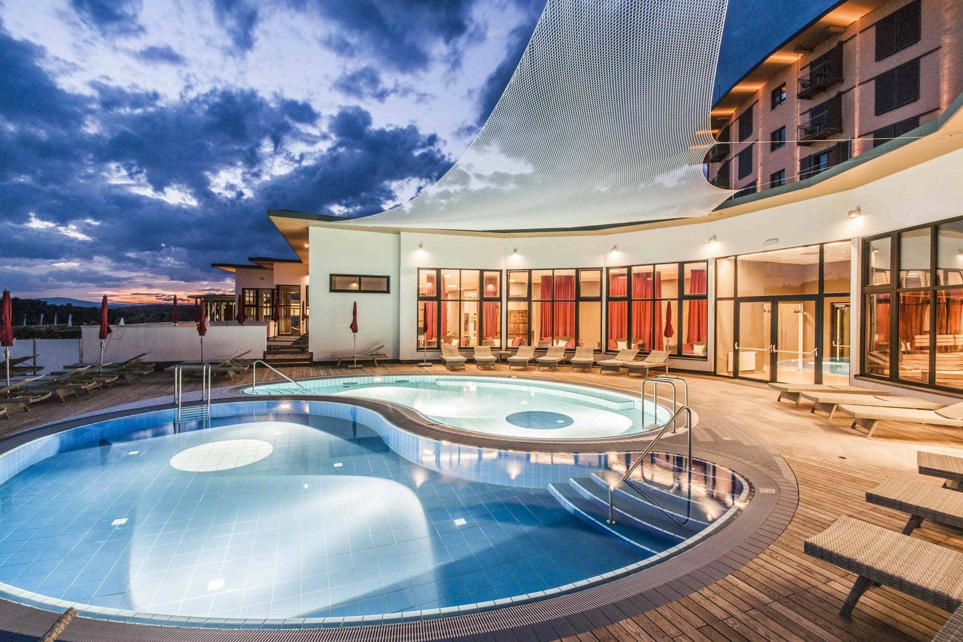 Bder Spa im Resort Stegersbach * Heilwasser, Massagen